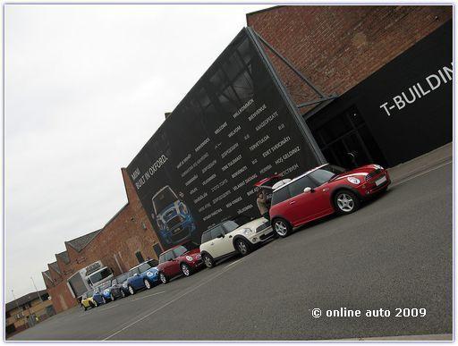 BMW MINI - сокращение штата сотрудников в Англии