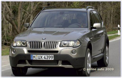Автомобили bmw. БМВ X3 серии