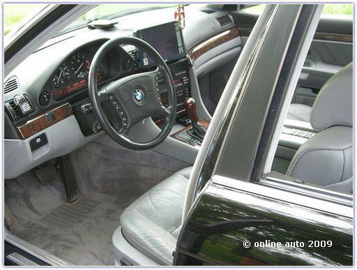 BMW E38 Club - НЕправильные установки в е38