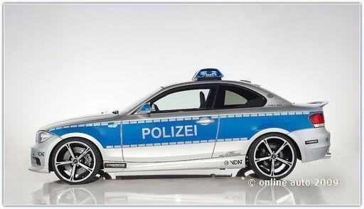 Автомобили БМВ. Тюнингованная полиция