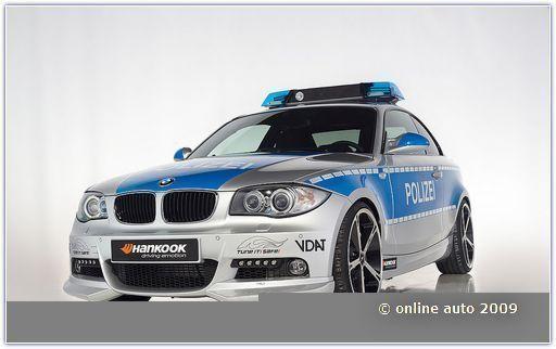Автомомбли БМВ. Полиция Германии, БМВ