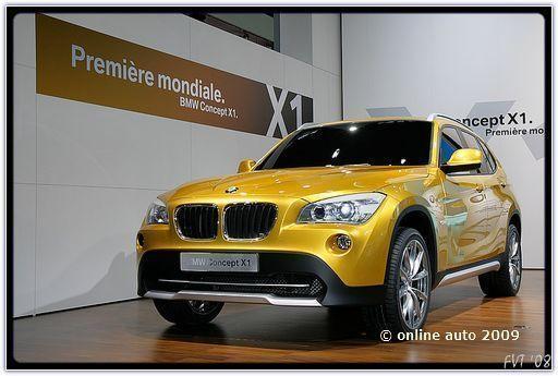 Автомобили БМВ. Безопасный BMW X1
