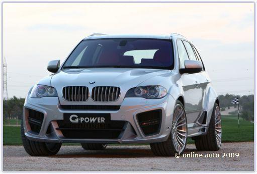 Автомобили БМВ. Новый BMW X5 Typhoon